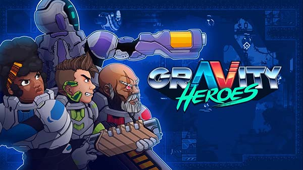 Fast-paced, chaotically beautiful 2D platform shooter 'Gravity Heroes' is now available for Xbox