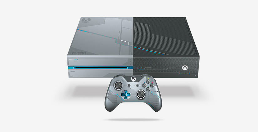 Halo 5 Custom 1TB Xbox One console