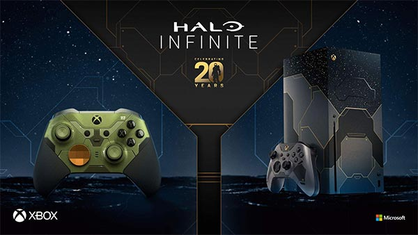 Limited Edition Halo Infinite Xbox Series X Bundle & Elite Series 2 Controller now available to pre-order!