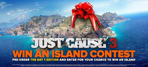 Just Cause 3 Win An Island Competition