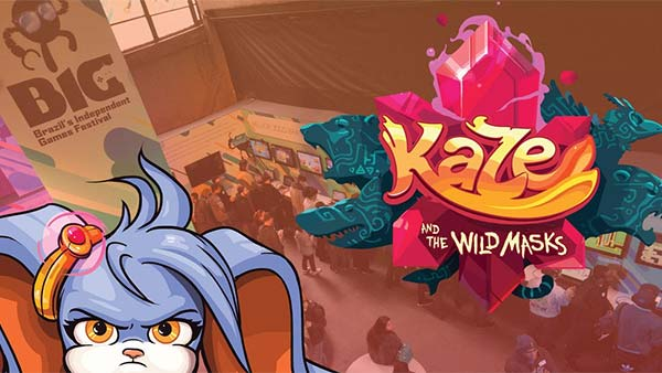 Critically acclaimed Kaze and the Wild Masks jumps from a childhood dream into reality today!