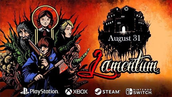Pixel-art Survival-Horror Title 'Lamentum' launches August 31 on Xbox, PlayStation, Switch and Steam