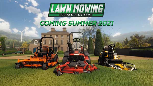 Lawn Mowing Simulator is coming to Xbox One, Xbox Series X/S, and PC in 2021