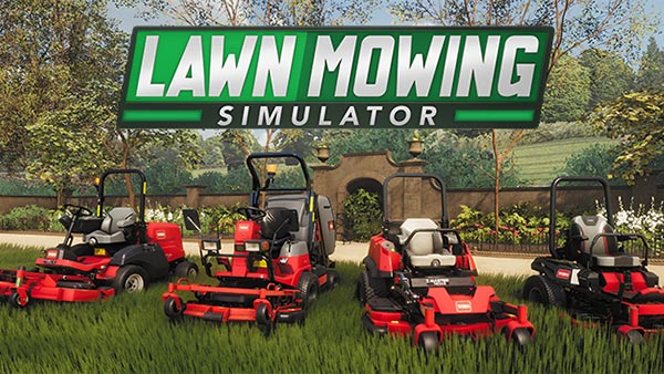 Lawn Mowing Simulator out today on XBOX Series X|S and PC