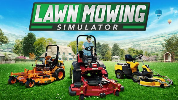 Lawn Mowing Simulator mows its way to Xbox Series S|X and PC on August 10