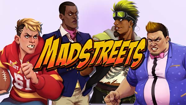 Physics-based party fighting game 'Mad Streets' launches this week on XBOX