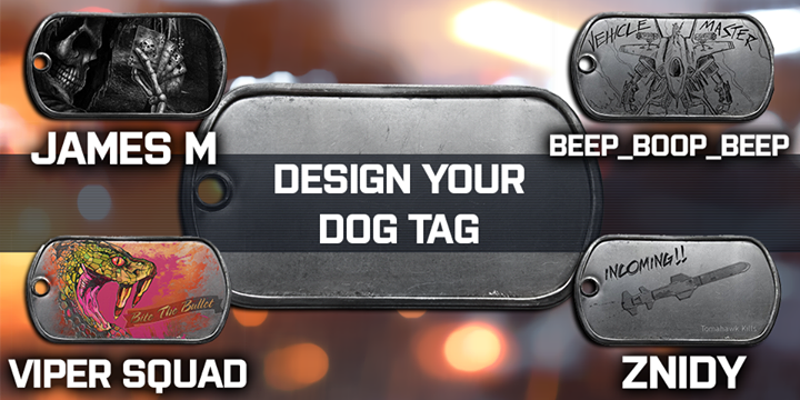 053e0e7ff3c8 Design Your Own Battlefield 4 Dog Tags - XboxOne-HQ.COM