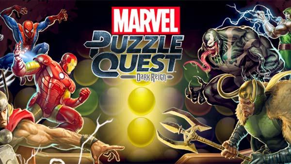 Marvel Puzzle Quest Dark Reign