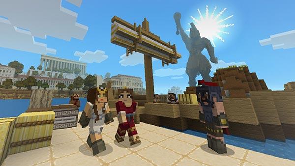 Minecraft Greek Mythology