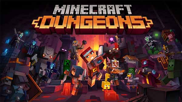 Minecraft Dungeons Xbox One digital pre-order and pre-download available now