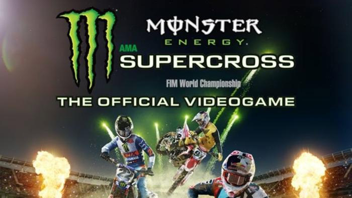 Official Monster Energy Supercross Videogame Is Now Available For Digital Pre-Order On Xbox One