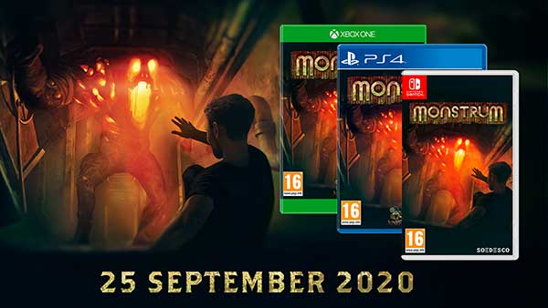 """The physical edition of """"Monstrum"""" releases next month on Xbox One, PS4 and Nintendo Switch"""