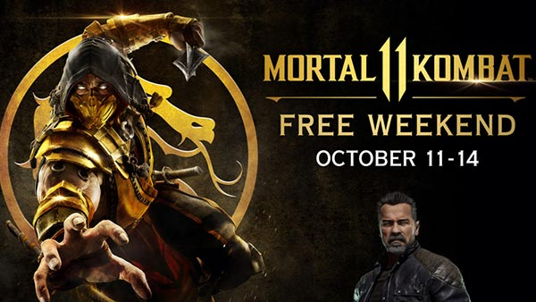 Mortal Kombat 11 (MK11) Free Weekend for Xbox One and PlayStation 4