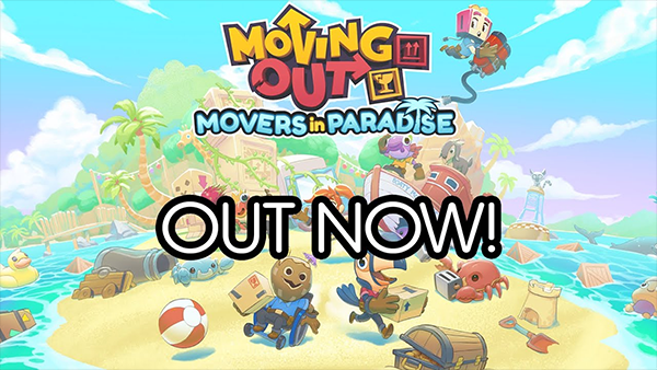 Moving Out sets sail for the tropics with the new 'Movers in Paradise' DLC
