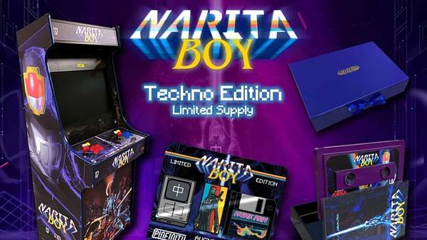 Narita Boy Techo Edition Arcade Machine