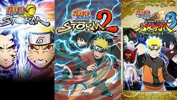 The Entire NARUTO SHIPPUDEN: Ultimate Ninja STORM Saga Is Now Available On Xbox One