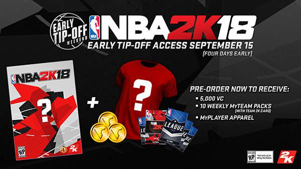 NBA 2K18 Now Available For Digital Pre-order On Xbox One