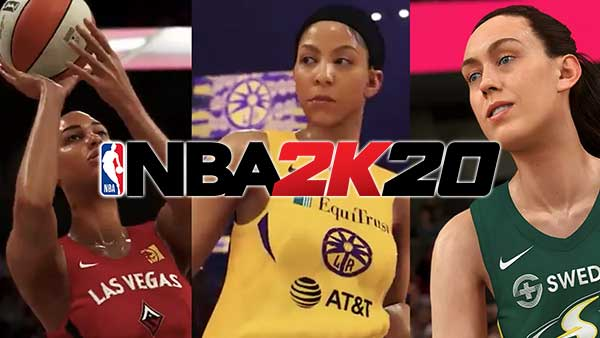 NBA 2K20: All 12 WNBA teams and players set to debut in NBA 2K