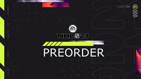 NHL 21 preorder