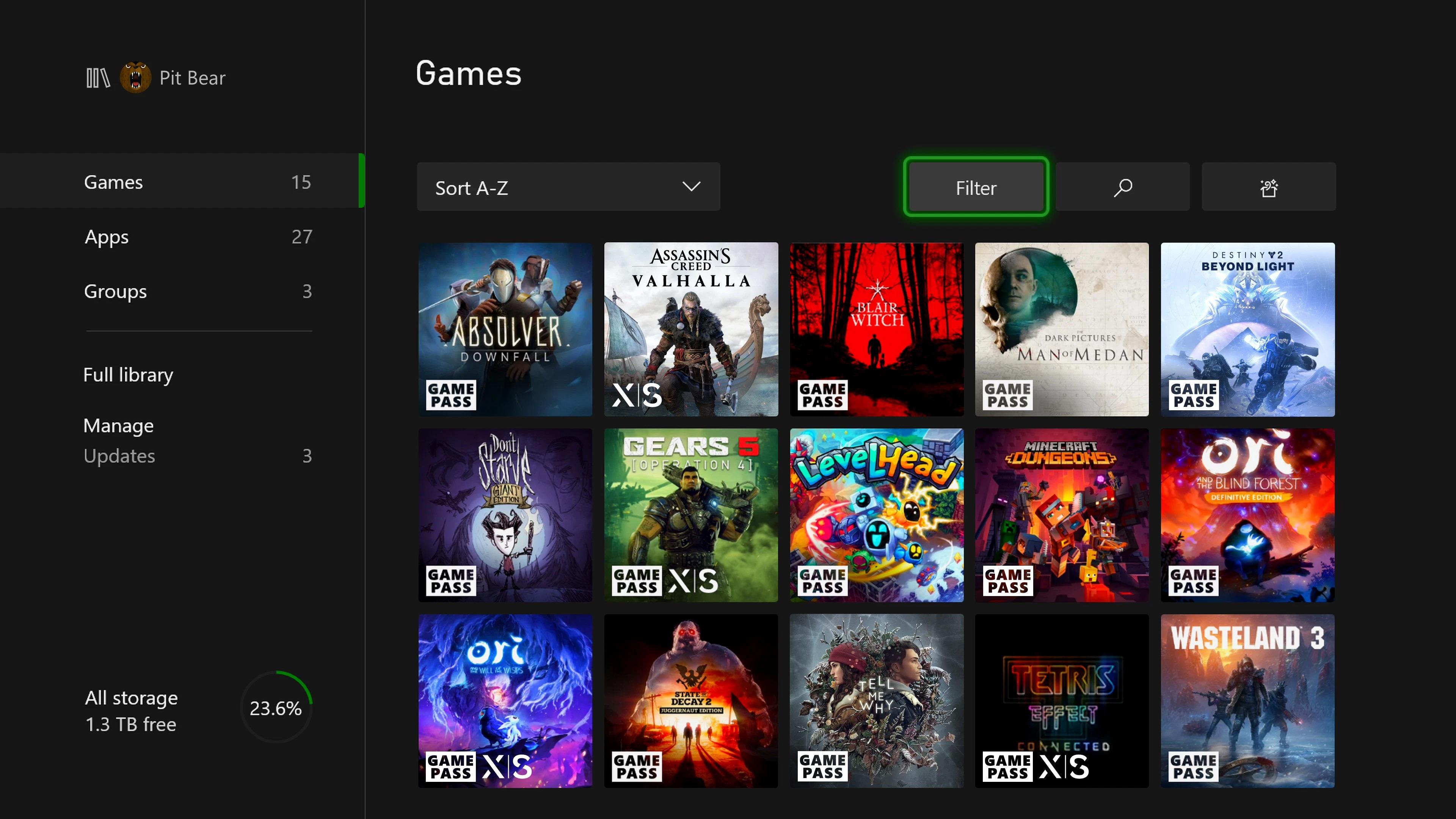 November 2020 Xbox Update - Optimized for Xbox Series X Badge