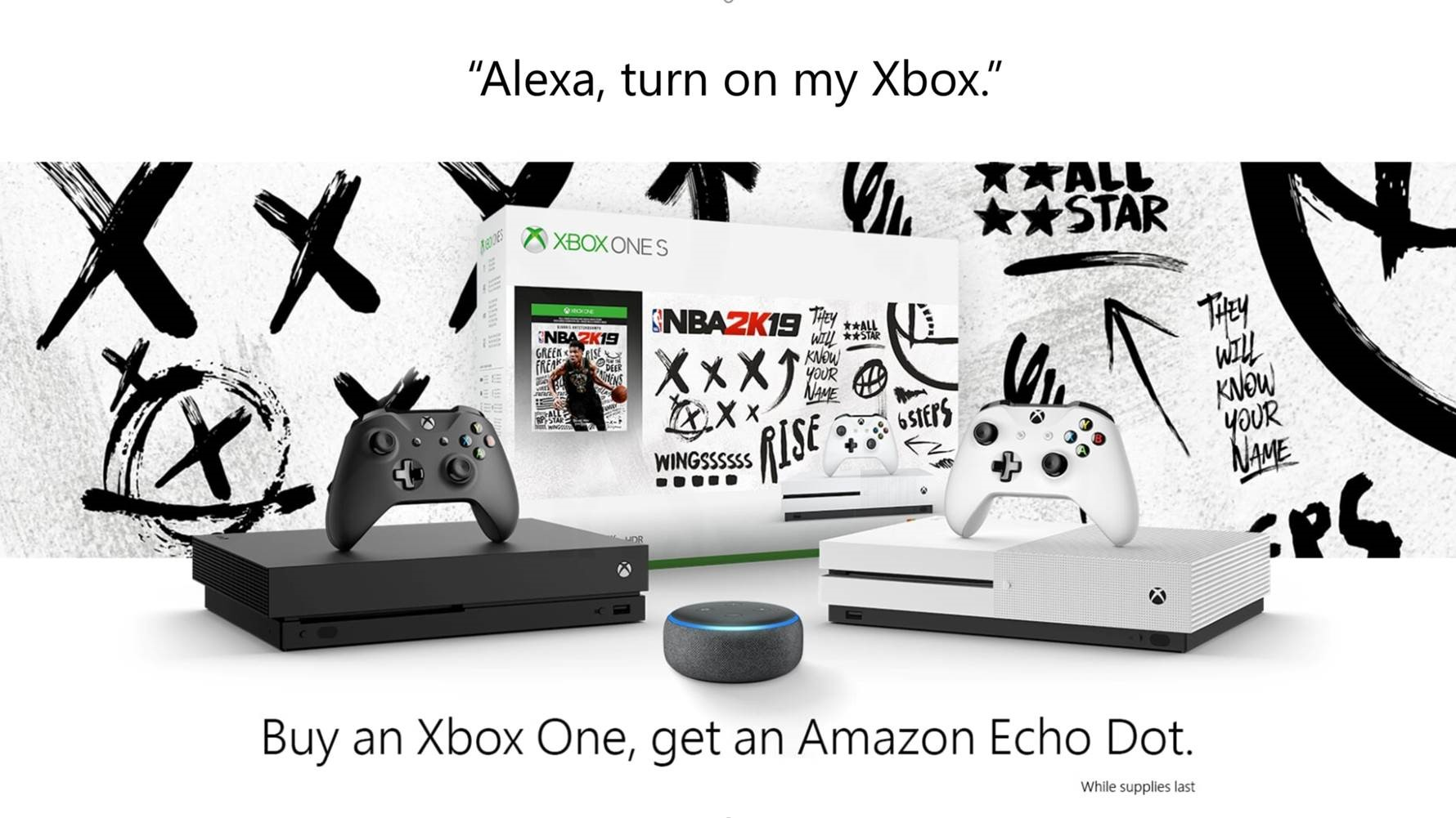 October 2018 Xbox Update: Amazon Echo