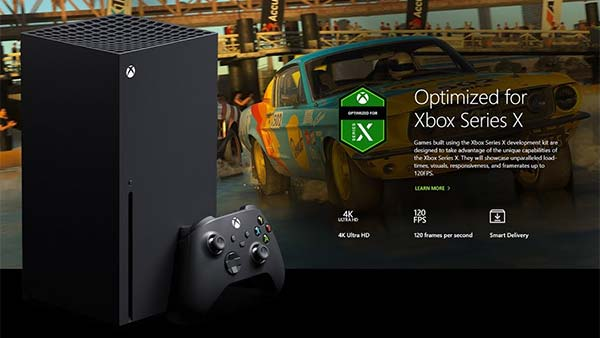 Complete list of games Optimized for Xbox Series X|S