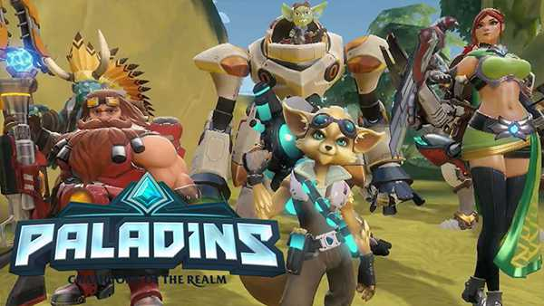 Paladins Champions of the Realm Is Now Available For Free On Xbox One