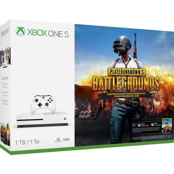 New Xbox One S PlayerUnknown's Battlegrounds Bundle Launches In February