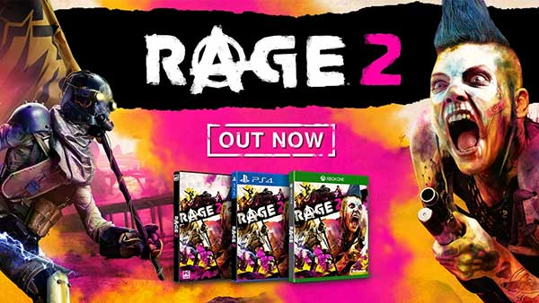 RAGE 2 Is Out Now On Xbox One, PlayStation 4 and Microsoft Windows