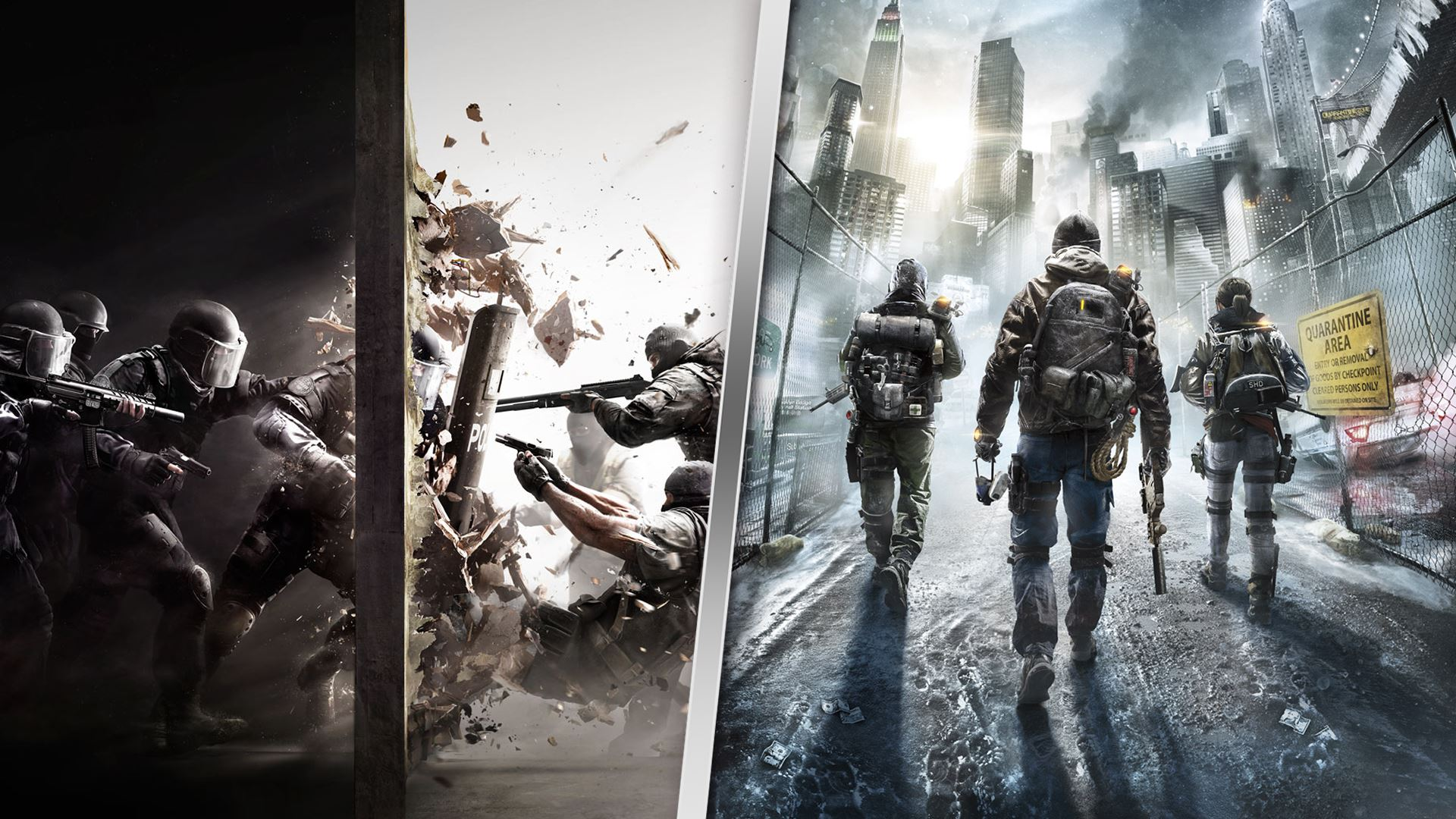 Rainbow Six Siege + The Division Bundle