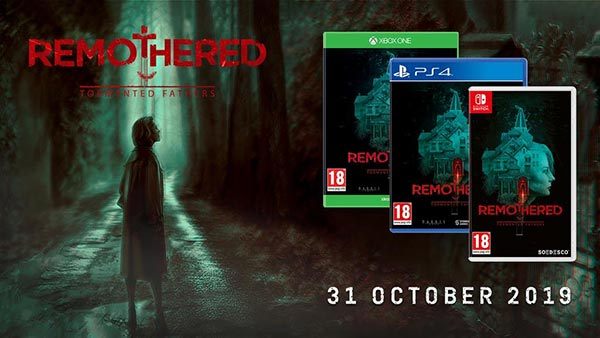 Remothered: Tormented Fathers hits retail shelves today for Xbox One, PlayStation 4 and Nintendo Switch