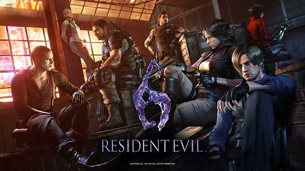 Resident Evil 6 for Xbox One and PS4