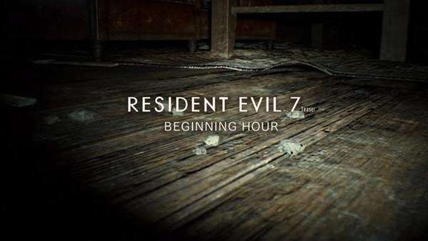 Resident Evil 7 Beginning Hour Demo