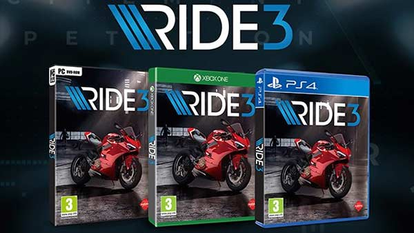 RIDE 3 is now available for pre-order on Xbox One, PS4 and PC