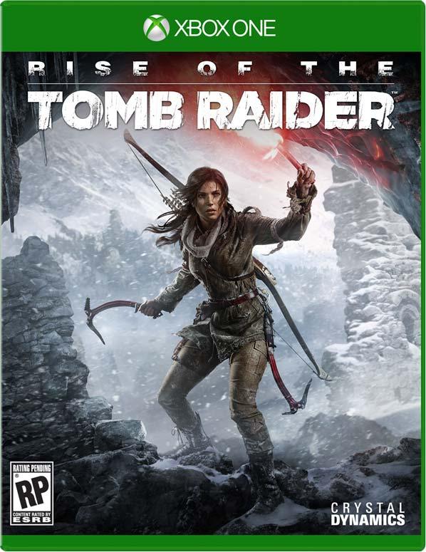 Rise of the Tomb Raider Xbox One Boxart