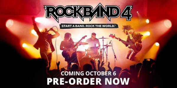 Rock Band 4 Pre-order
