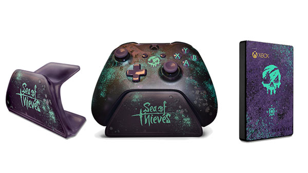 Sea Of Thieves Controller Gets New Pirate Themed Charger & USB HDD