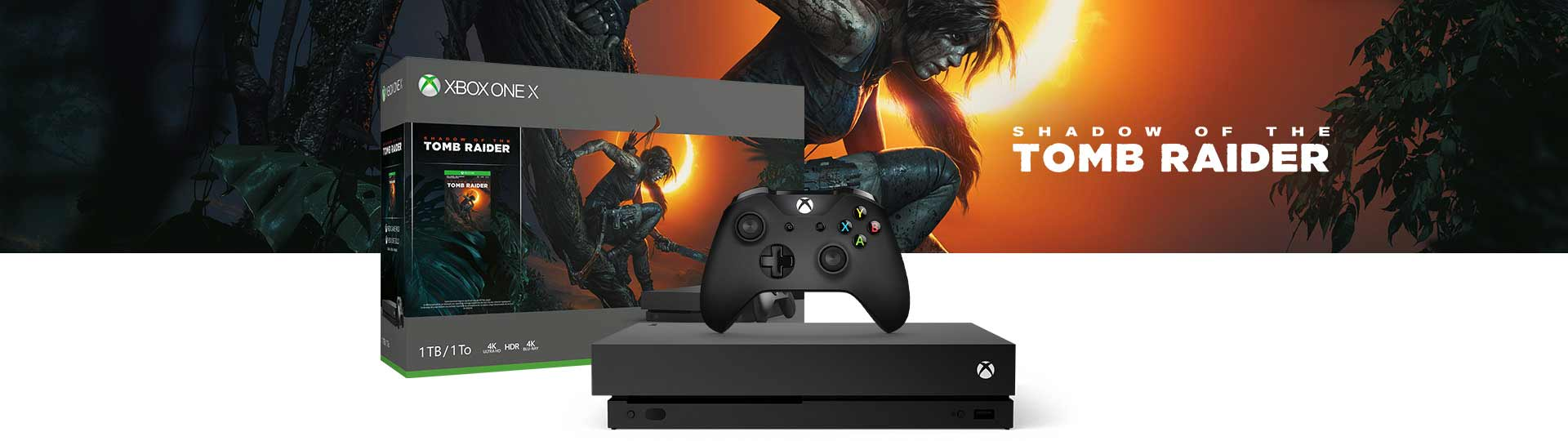 Shadow of the Tomb Raider Xbox One Bundles