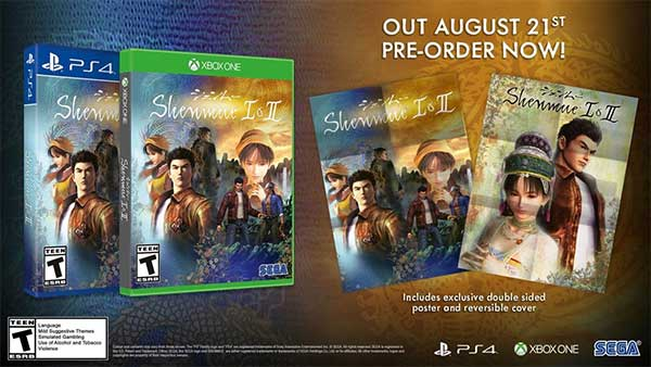 Shenmue I & II releases August 21, Xbox One Digital Pre-order available now