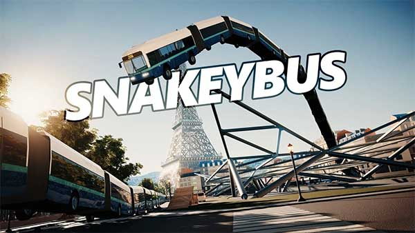 """Absurd arcade-driving game """"Snakeybus"""" lands on Xbox One"""
