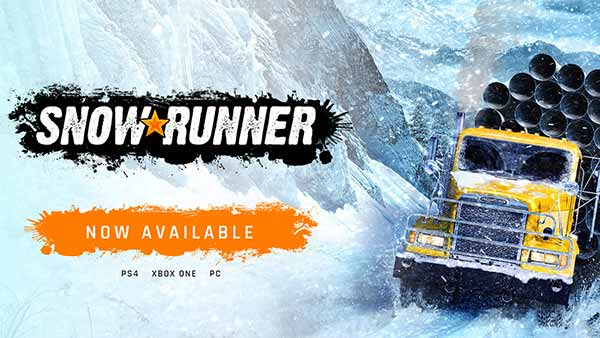 SnowRunner Available Now on Xbox One, PS4 and PC