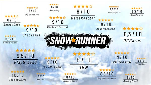 SnowRunner's Season 3 update adds new maps, new vehicles, and the return of logging activities!