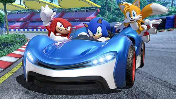 Sonic Racing Screenshot