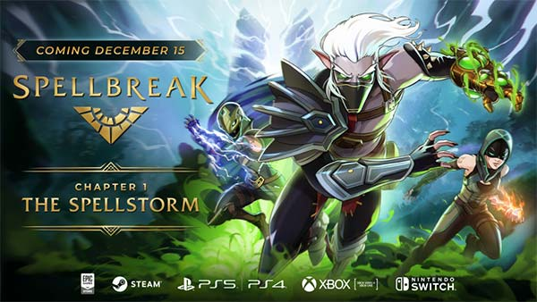 Spellbreak Chapter 1: The Spellstorm will release on December 15th