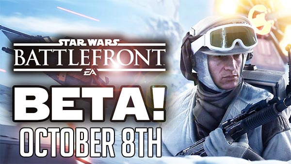 Star Wars Battlefront Beta Starts Today Oct. 8 on Xbox One, PS4 & PC