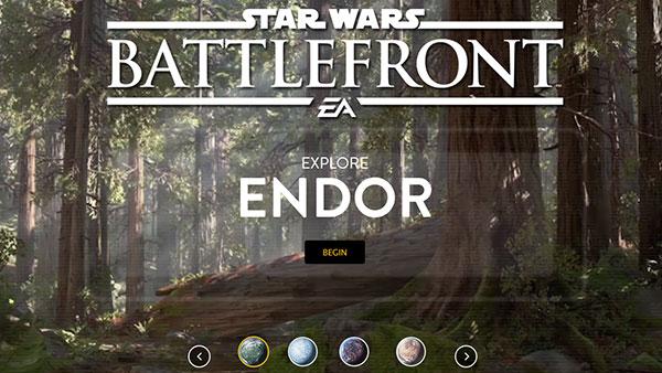 Star Wars Battlefront Explore The Planets of Battlefront