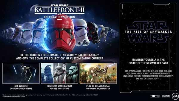 Star Wars Battlefront 2 Celebration Edition