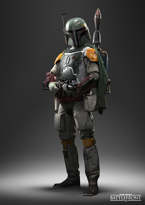 Star Wars Battlefront Boba Fett