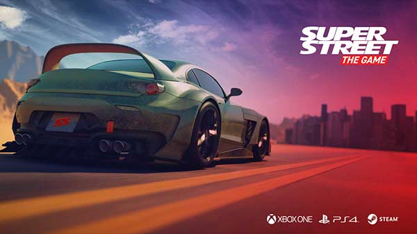 Super Street: The Game Coming to Xbox One, PS4 And PC in 2018