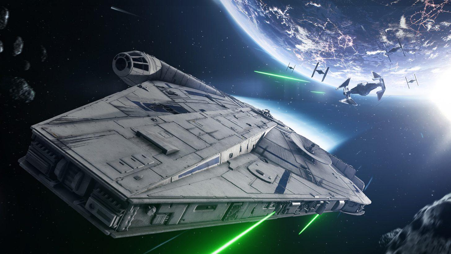 Han Solo Season - Pilot Lando's Millennium Falcon